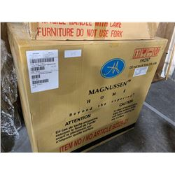 New in Box MagnussenCherry wood 2 drawer night stand