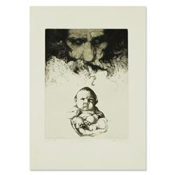 "Charles Bragg ""The Sixth Day"" Limited Edition Etching"