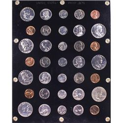 1950-1956 (5) Coin Proof Sets in Capitol Plastic Holder