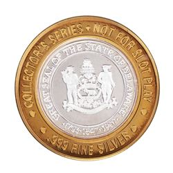.999 Fine Silver Caesars Atlantic City, NJ $10 Limited Edition Gaming Token