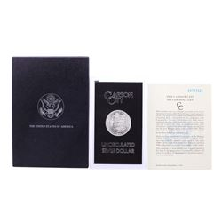 1883-CC $1 Morgan Silver Dollar Coin GSA Hoard Uncirculated w/Box & COA