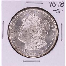 1878-S $1 Morgan Silver Dollar Coin Amazing Toning