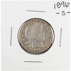 1896-S Barber Quarter Coin