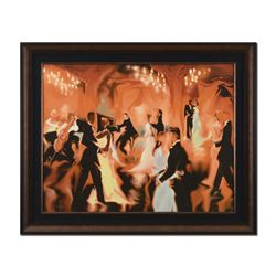 """Steve Bloom """"Champagne"""" Limited Edition Giclee On Canvas"""