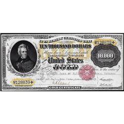 1900 $10,000 Gold Certificate Note
