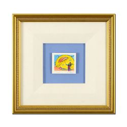 """Peter Max """"Umbrella Sage I"""" Limited Edition Lithograph on Paper"""