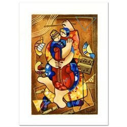 """Dorit Levi """"Our Strings Attached"""" Limited Edition Serigraph"""