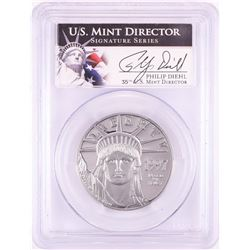 1997-W $100 Proof American Platinum Eagle Coin PCGS PR69DCAM Mint Director Signature