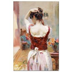 "Pino (1939-2010) ""Isabella"" Limited Edition Giclee on Canvas"