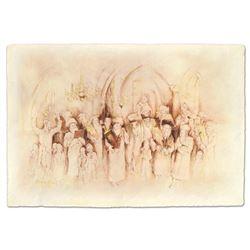 """Brachi Horen """"Simchat Torah"""" Giclee on Paper"""