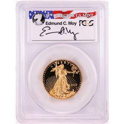 2015-W $25 Proof American Gold Eagle Coin PCGS PR70DCAM Moy Signature FDOI Denver