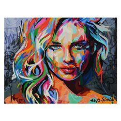 "Asya Simon ""Secrets"" Limited Edition Giclee on Canvas"