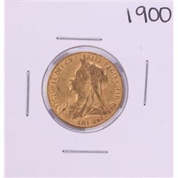 1900 Great Britain Sovereign Gold Coin
