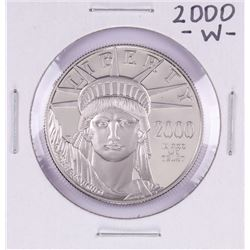 2000-W $100 Proof Platinum American Eagle Coin