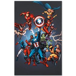 "Marvel Comics ""Official Handbook: Avengers 2005"" Limited Edition Giclee on Canvas"