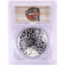 2020-P $1 Basketball Hall of Fame Silver Dollar Coin PCGS PR70DCAM First Day of Issue