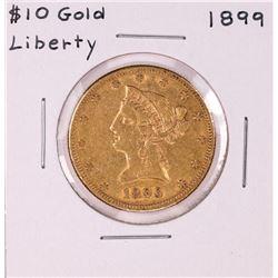 1899 $10 Liberty Head Eagle Gold Coin