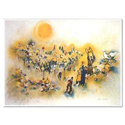 "Ben Avram ""Jerusalem of gold"" Limited Edition Serigraph"