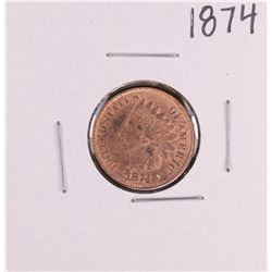 1874 Indian Head Cent Coin