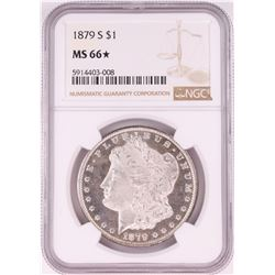 1879-S $1 Morgan Silver Dollar Coin NGC MS66* Star