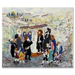 "Judith Yellin ""Wedding in Jerusalem II"" Limited Edition Serigraph"