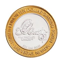 .999 Fine Silver El Cortez Hotel & Casino Las Vegas $10 Limited Edition Gaming Token