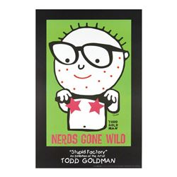 "Todd Goldman ""Nerds Gone Wild"" Lithograph"