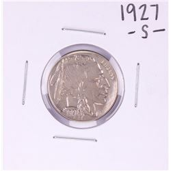 1927-S Buffalo Nickel Coin