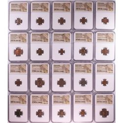 Lot of (20) Different Ancient Roman Empire Coins NGC Certified
