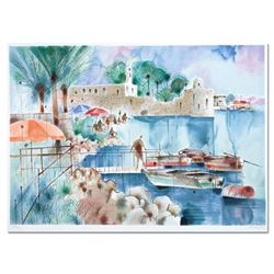 """Katz (1926-2010) """"Ancient Fort"""" Limited Edition Serigraph"""