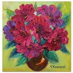 Yana Korobov Untitled Original Acrylic On Canvas