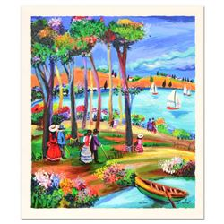 "Shlomo Alter ""Afternoon Stroll"" Limited Edition Serigraph"