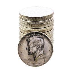 Roll of (20) 1964-D Kennedy Half Dollar Coins