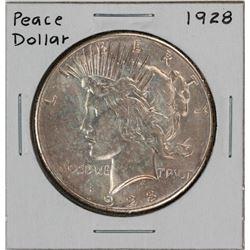 1928 $1 Peace Silver Dollar Coin