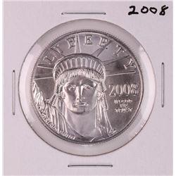 2008 $100 American Platinum Eagle Coin