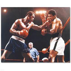 """Norton Punching Ali"" Photograph"