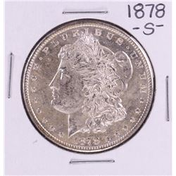 1878-S $1 Morgan Silver Dollar Coin Amazing Toning