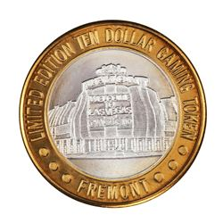 .999 Silver Sam Boyd's Fremont Las Vegas $10 Casino Limited Edition Gaming Token