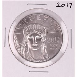 2017 $100 American Platinum Eagle Coin