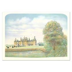 """Rolf Rafflewski """"Chateau"""" Limited Edition Lithograph"""