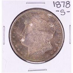 1878-S $1 Morgan Silver Dollar Coin Nice Toning