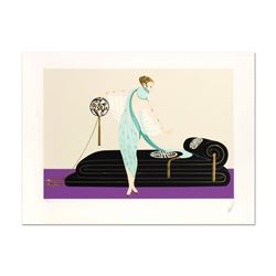 "Erte (1892-1990) ""Salon"" Limited Edition Serigraph on Paper"