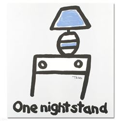 """Todd Goldman """"One Night Stand"""" Limited Edition Lithograph"""
