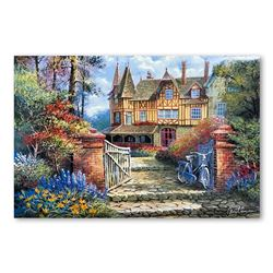 """Anatoly Metlan """"Castle in the Woods"""" Limited Edition Serigraph"""