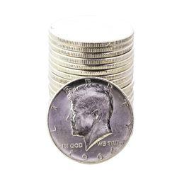Roll of (20) 1964 Kennedy Half Dollar Coins