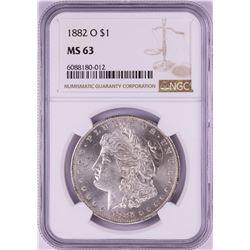 1882-O $1 Morgan Silver Dollar Coin NGC MS63