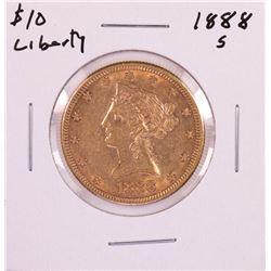 1888-S $10 Liberty Head Eagle Gold Coin