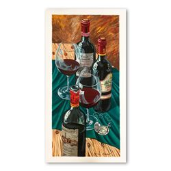 """Dima Gorban """"Table for Two"""" Limited Edition Serigraph"""