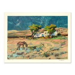 "Robert Rosenberg ""Wheat Field"" Limited Edition Serigraph"