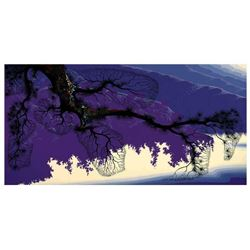 "Eyvind Earle (1916-2000) ""Purple Coastline"" Limited Edition Serigraph"